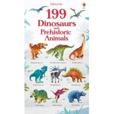 199 Dinosaurs and Prehistoric Animals - Board Book - Usborne