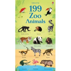 199 Zoo Animals - Board Book - Usborne