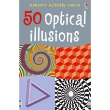 50 Optical Illusion Cards - Usborne