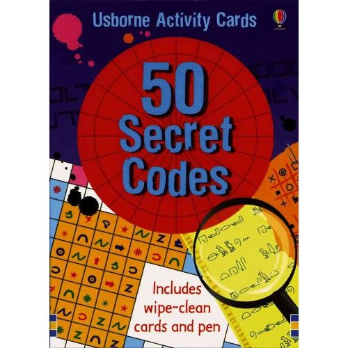 50 Secret Codes - Usborne - from who what why