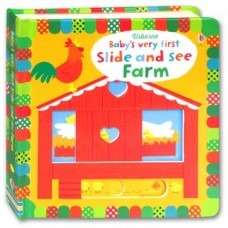 Baby's Very First Slide & See Farm Book - Usborne
