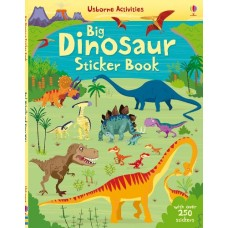 Big Dinosaur Sticker Book  - Usborne