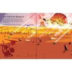 Big Dinosaur Sticker Book  - Usborne