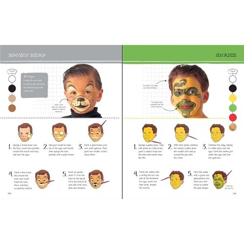 Book Of Face Painting Usborne From Who What Why