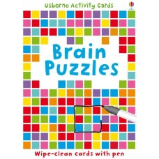 Brain Puzzles Activity Cards - Usborne