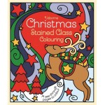 Christmas Stained Glass Colouring - Usborne