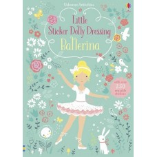 Stickers - Little Sticker Dolly Dressing - Ballerina - Usborne