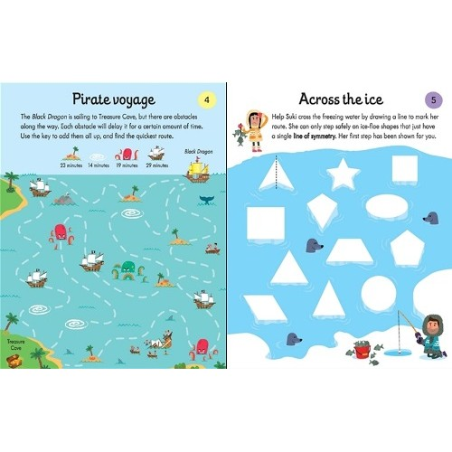 Maths Puzzle Pad - Usborne - from who what why