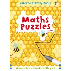Maths Puzzle Activity Cards - Usborne