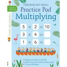 Multiplying Practice Pad - Usborne