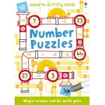Number Puzzles Activity Cards - Usborne