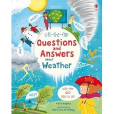 Questions & Answers About Weather - Lift the Flap - Usborne