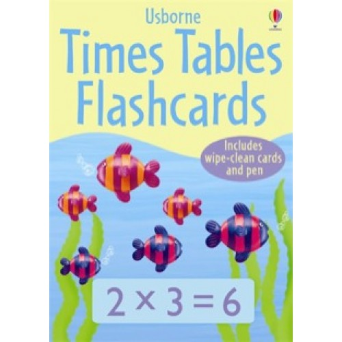 Times Tables Flash Cards Usborne From Who What Why