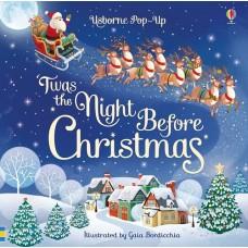 'Twas the Night Before Christmas - Pop Up Book - Usborne