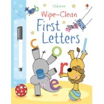 First Letters - Wipe Clean - Usborne
