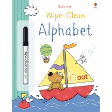 Alphabet - Wipe Clean - Usborne