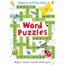 Word Puzzles Activity Cards - Usborne