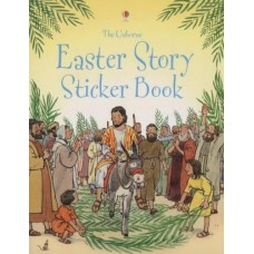Easter Story Sticker Book - Usborne