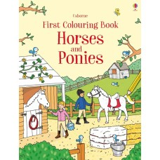 Colouring Book - Horses & Ponies - Usborne
