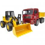 Construction Truck with Loader - Bruder  02752