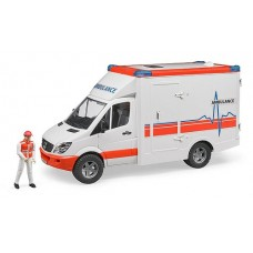 Ambulance - MB Sprinter with Driver  - Bruder 02536