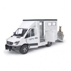 Horse Transporter - MB Sprinter with Horse  - Bruder 02533